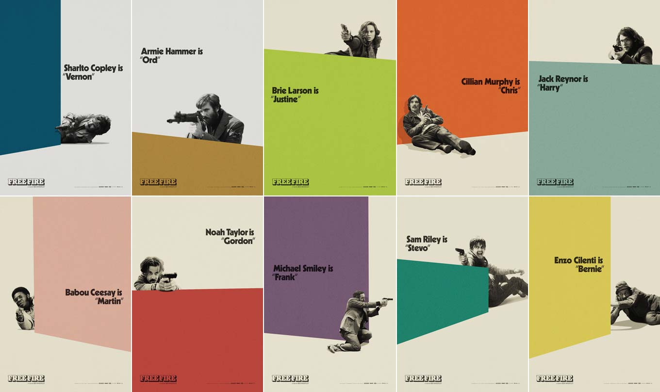 Poster series for Free Fire