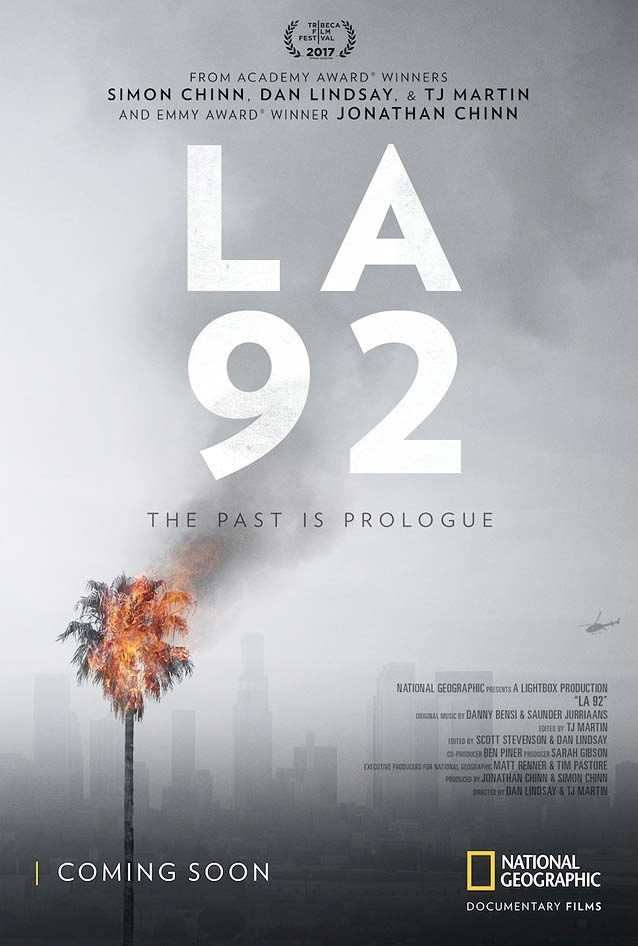 Poster for LA 92