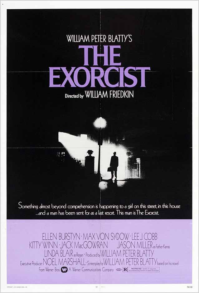 Film poster for The Exorcist