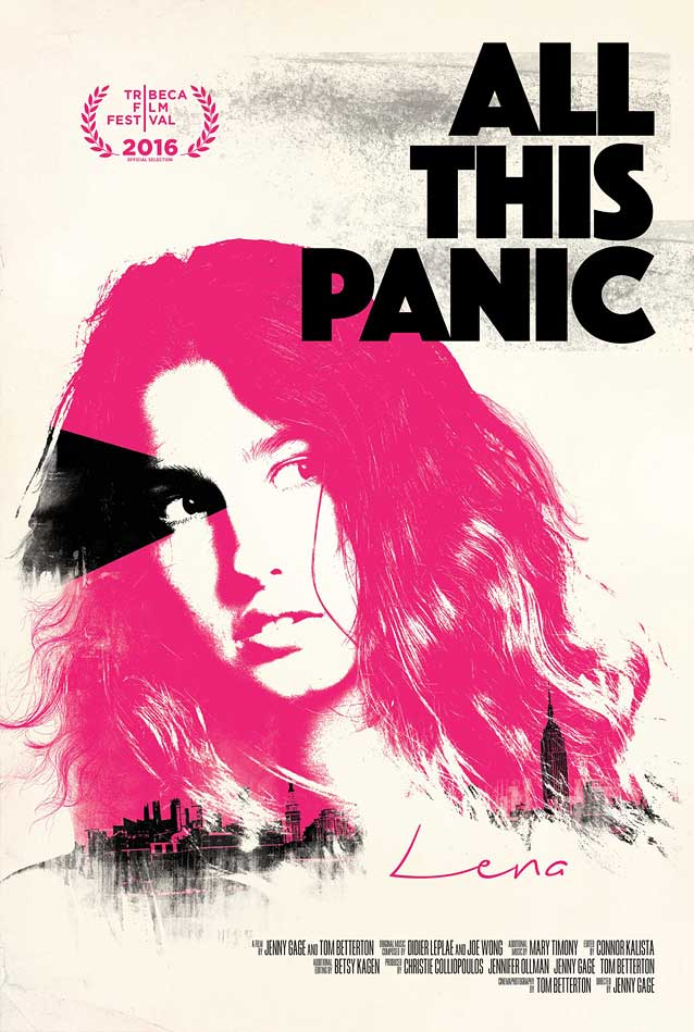 Film poster for All This Panic