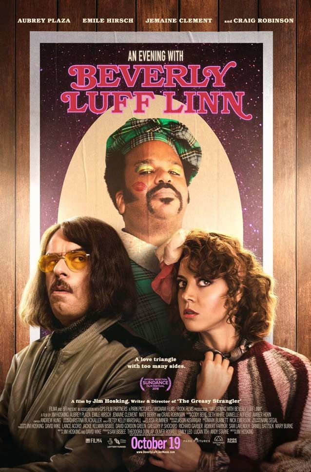 P+A's theatrical one-sheet for An Evening with Beverly Luff Linn