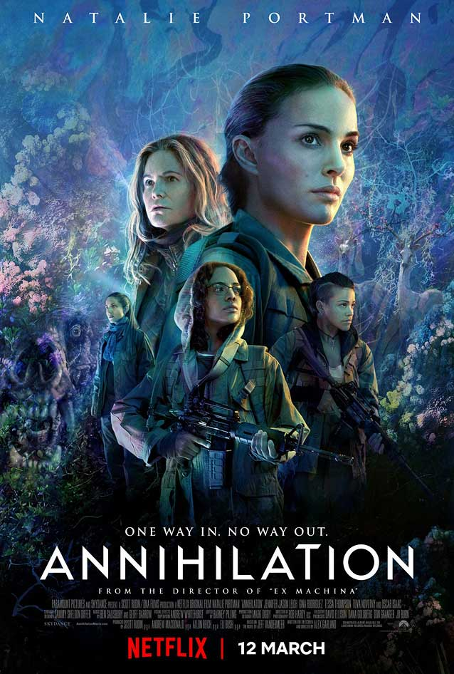 BLT Communications' poster for Annihilation