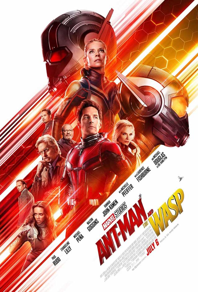 Art Machine's theatrical one-sheet for Ant-Man and The Wasp