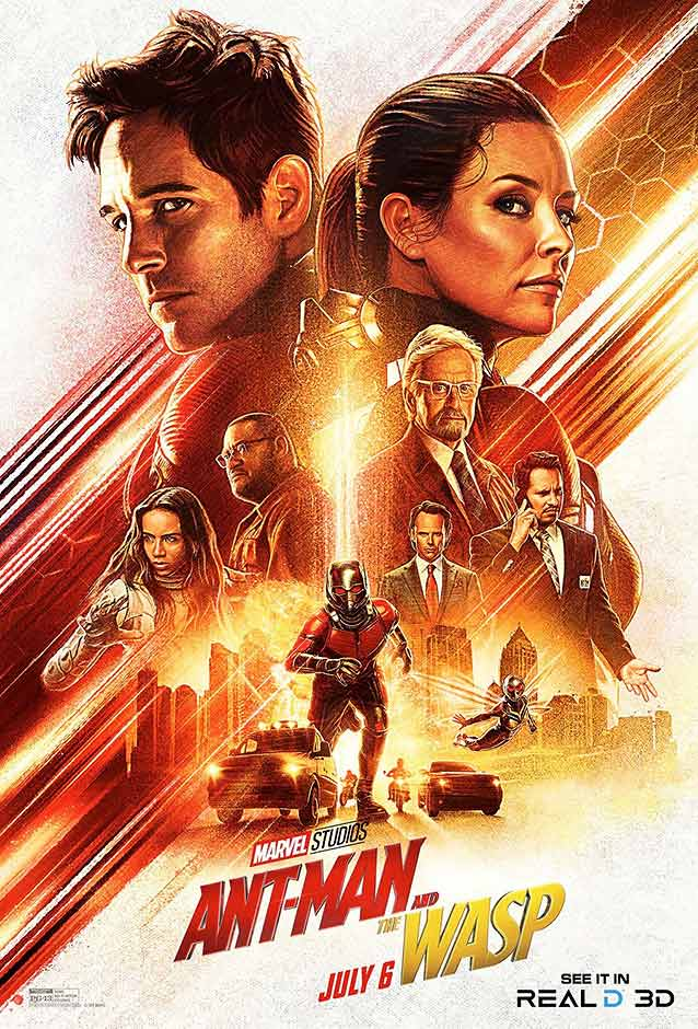 Art Machine's illustrated one-sheet for Ant-Man and The Wasp