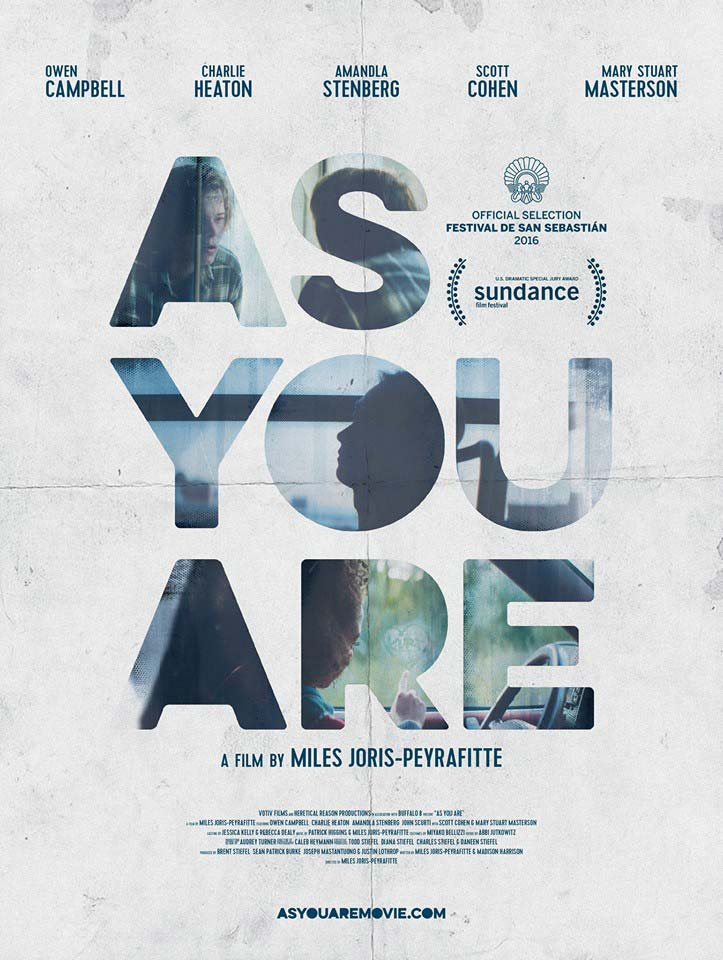 Film poster for As You Are