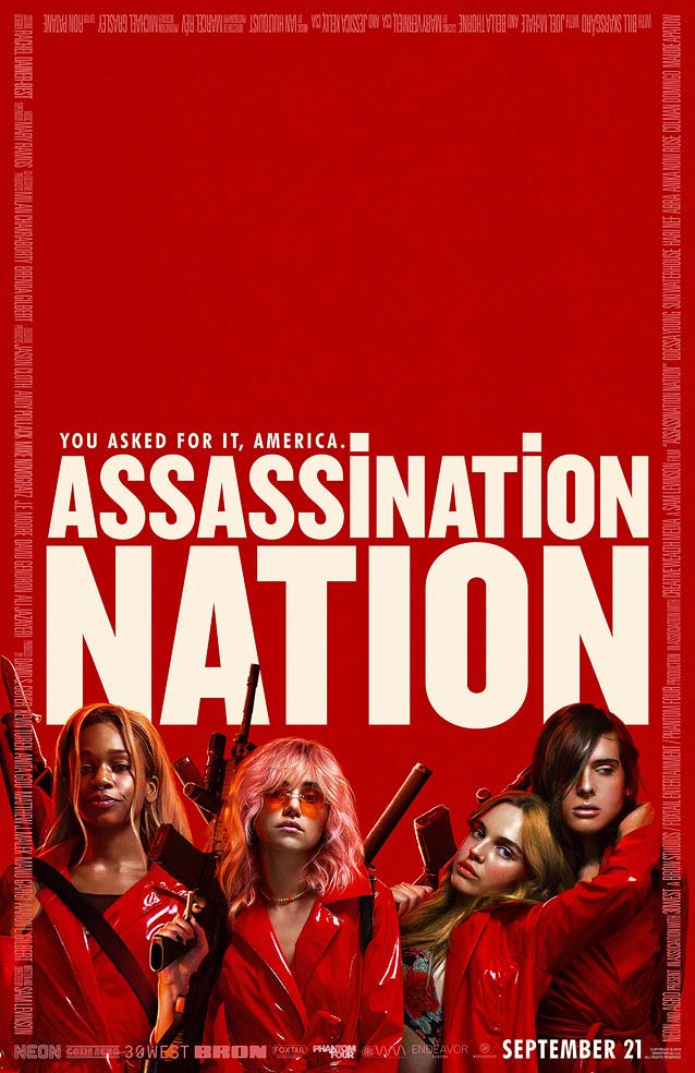 LA's theatrical one-sheet for Assassination Nation