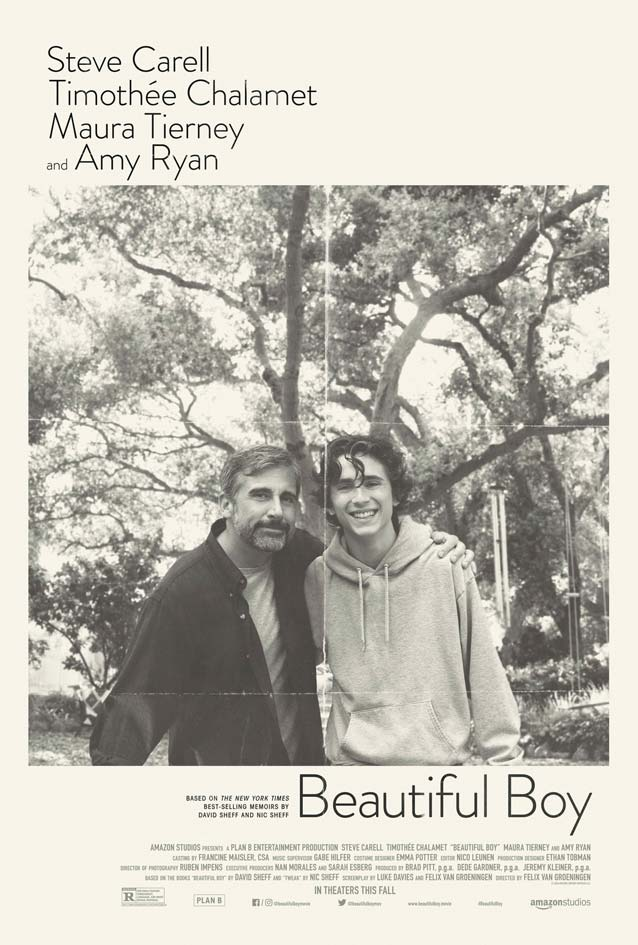 InSync Plus' theatrical one-sheet for Beautiful Boy