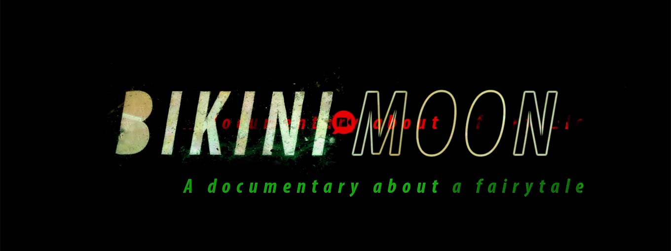 Dave McKean's title treatment for Bikini Moon