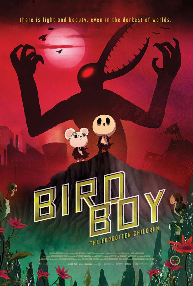 Poster for Psiconautas, los niños olvidados (Birdboy: The Forgotten Children)