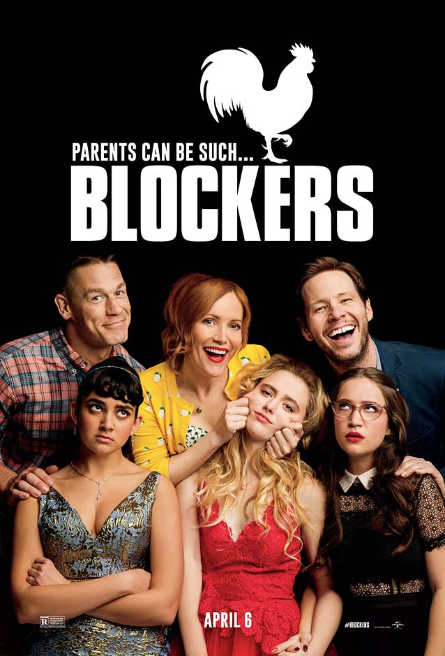 LA's theatrical one-sheet for Blockers