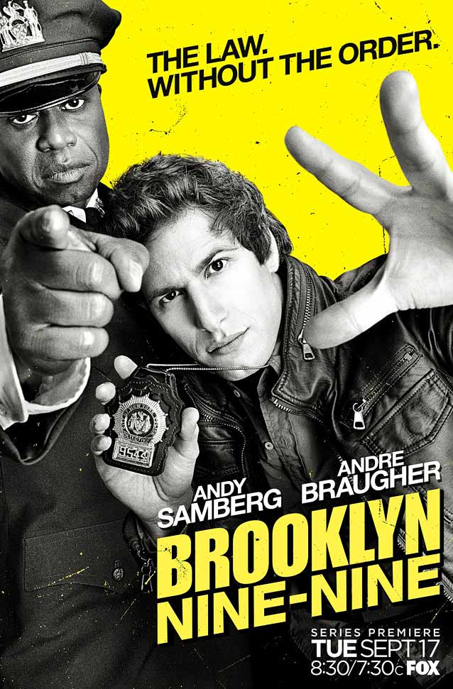 Arsonal's poster for Brooklyn Nine-Nine
