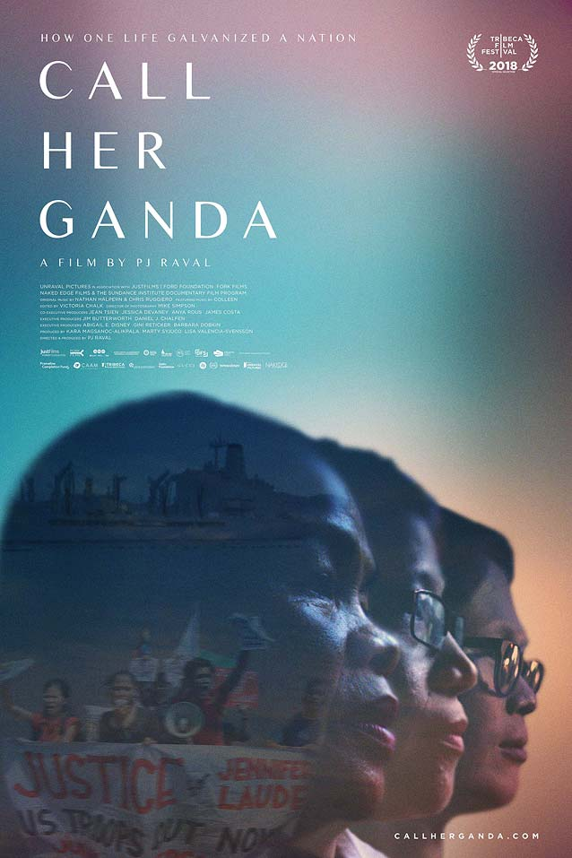 Theatrical one-sheet for Call Her Ganda