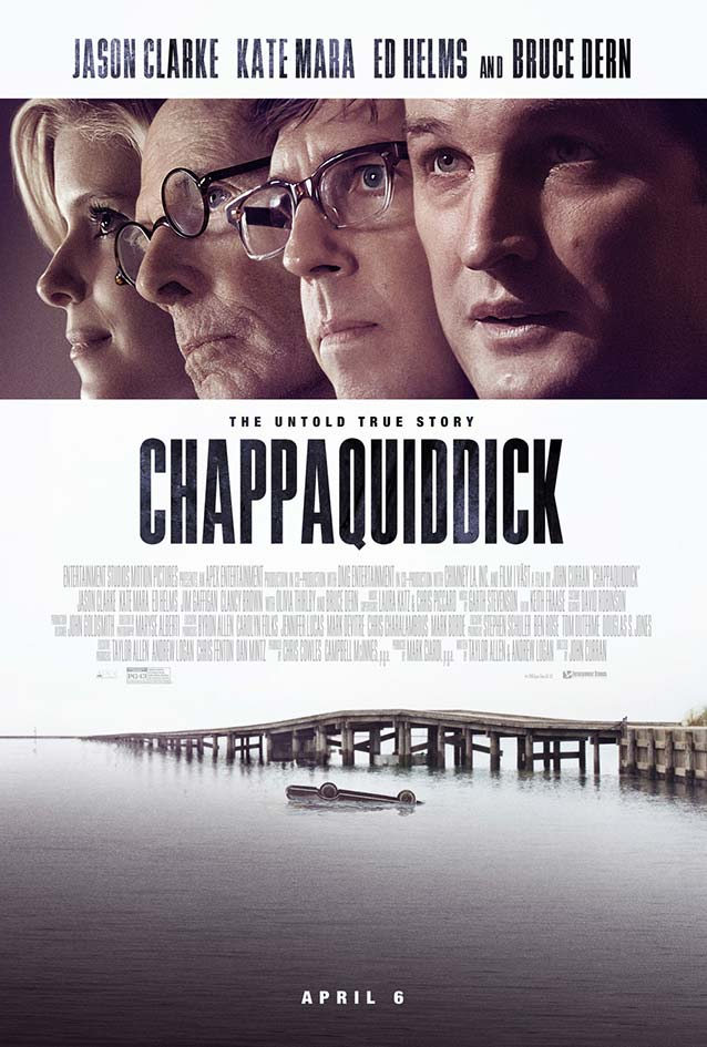 Bond's theatrical one-sheet for Chappaquiddick