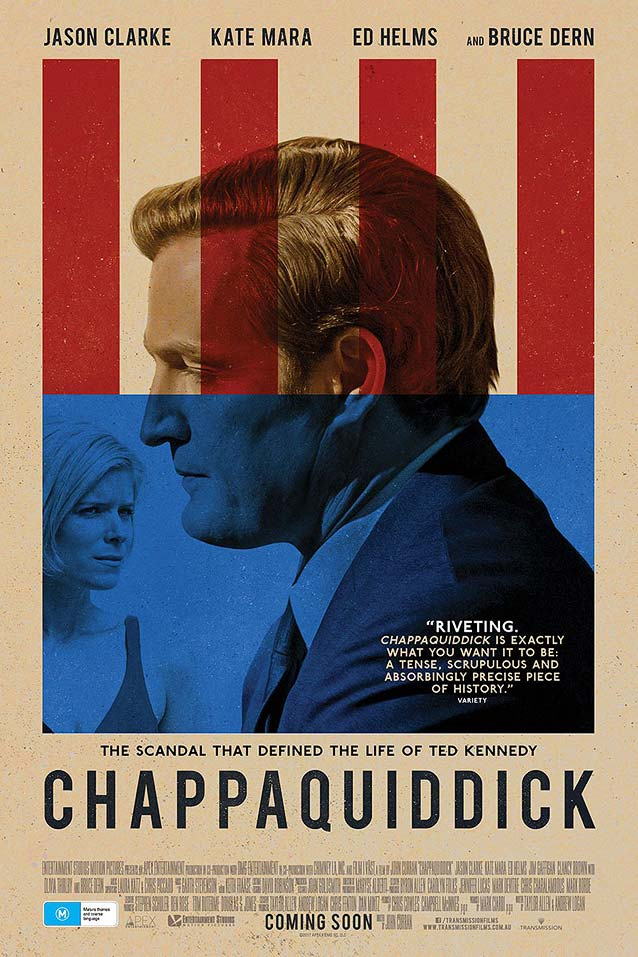 Bond's final one-sheet for Chappaquiddick