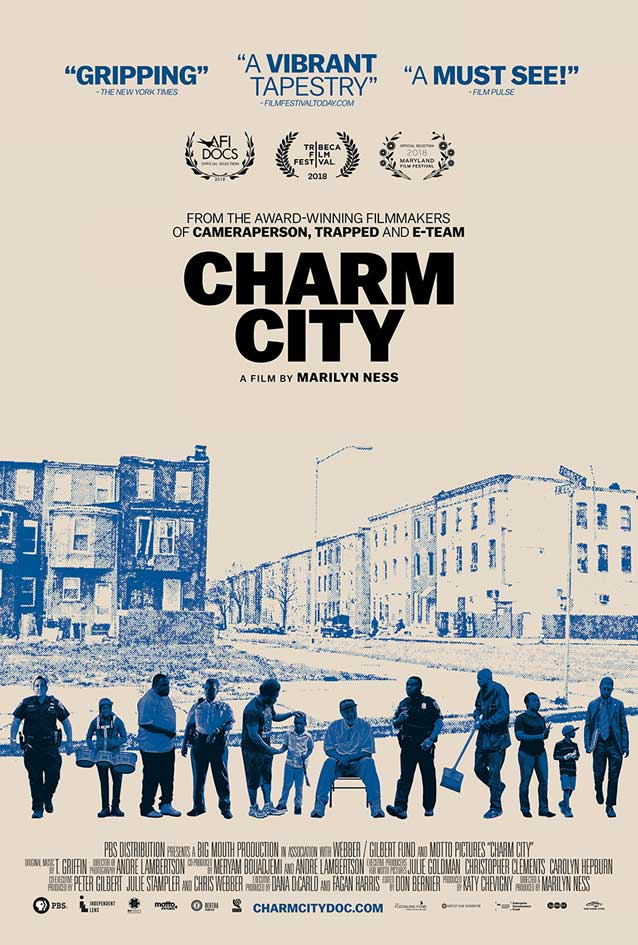 Theatrical one-sheet for Charm City