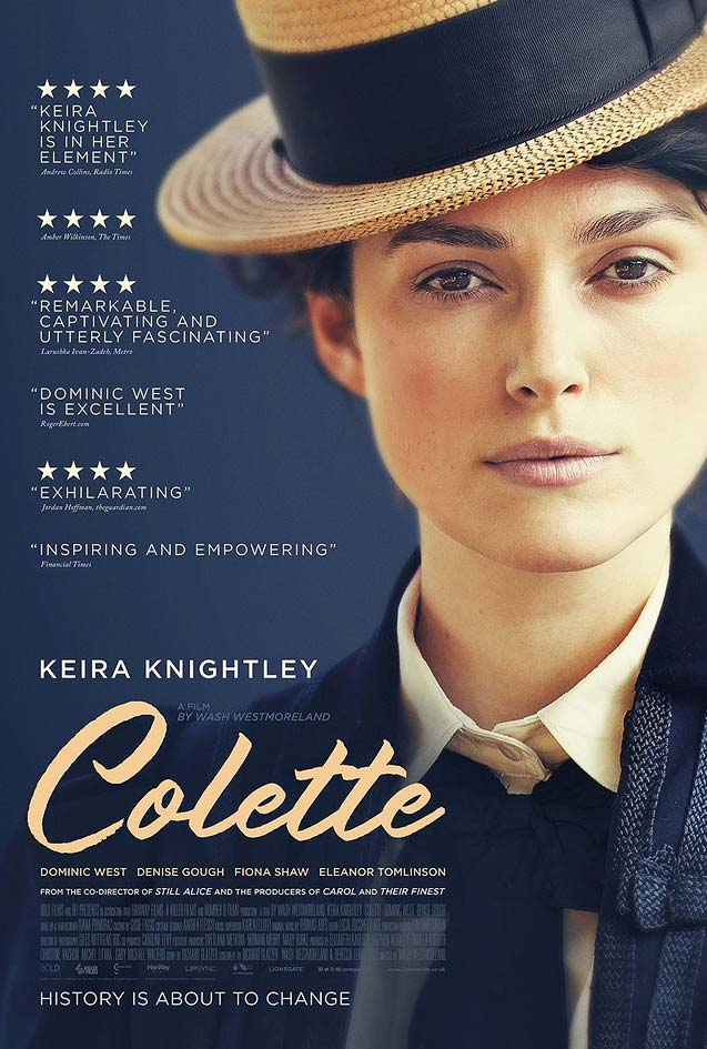 Theatrical one-sheet for Colette