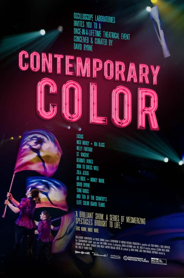 Film poster for Contemporary Color