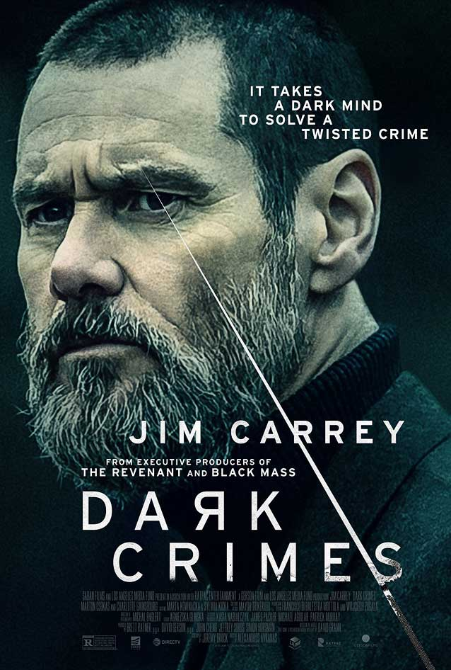 Theatrical one-sheet for Dark Crimes