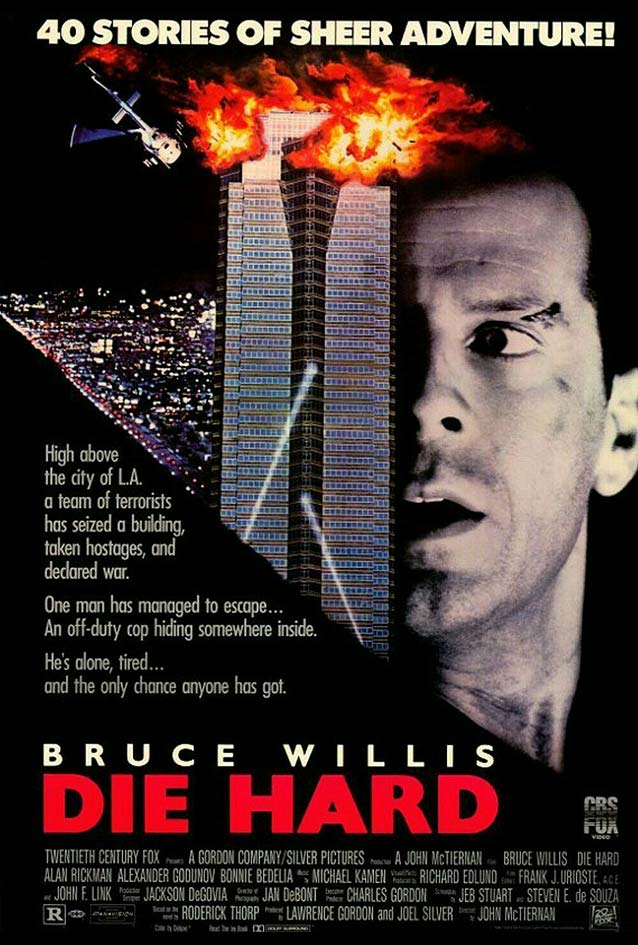 Theatrical one-sheet for Die Hard