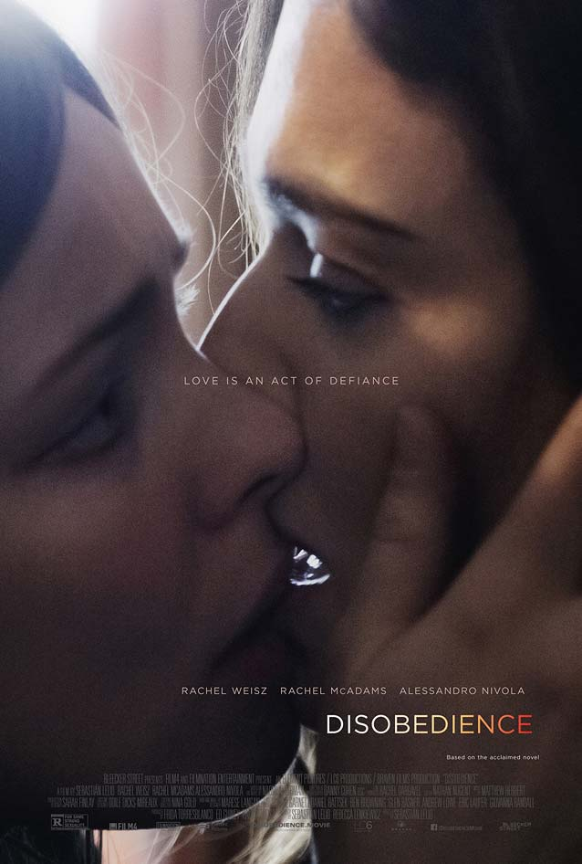 InSync Plus' main theatrical one-sheet for Disobedience