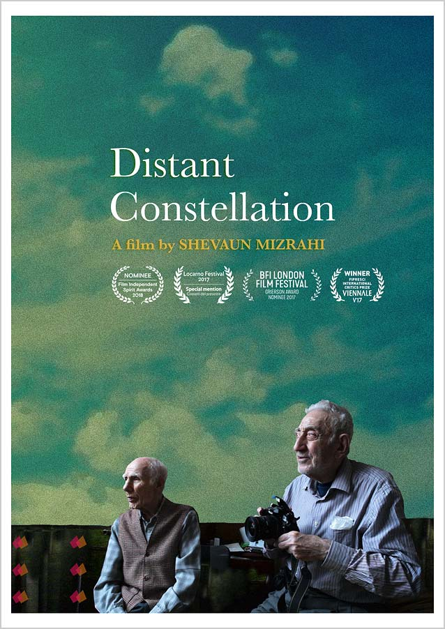 Shelly Grizim's theatrical one-sheet for Distant Constellation