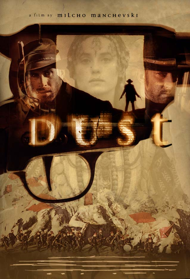 Dave McKean's theatrical one-sheet for Dust