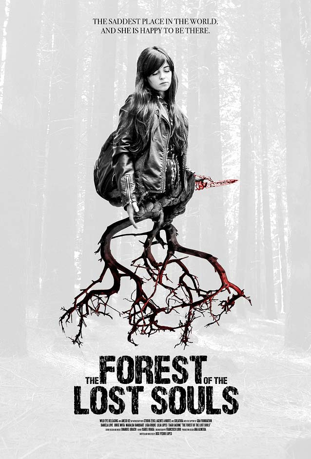 International poster for A Floresta das Almas Perdidas (The Forest of the Lost Souls)