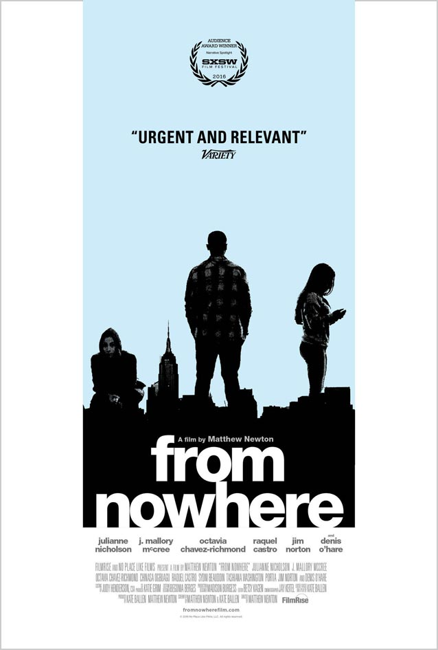 Film poster for From Nowhere