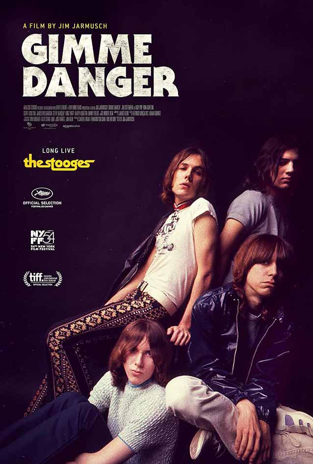 Film poster for Gimme Danger