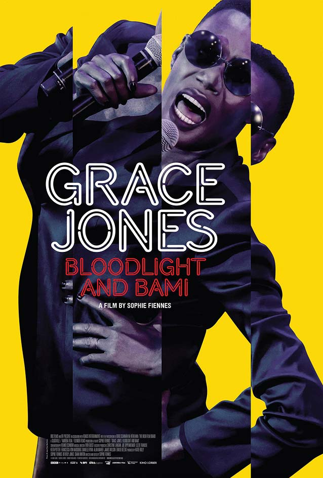 Theatrical one-sheet for Grace Jones: Bloodlight and Bami