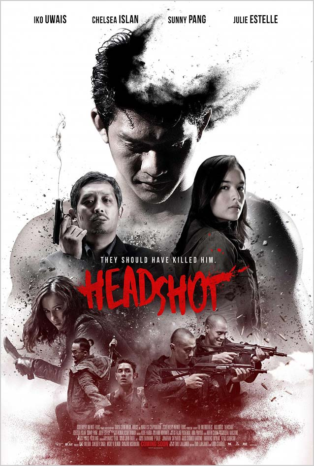 Film poster for Headshot