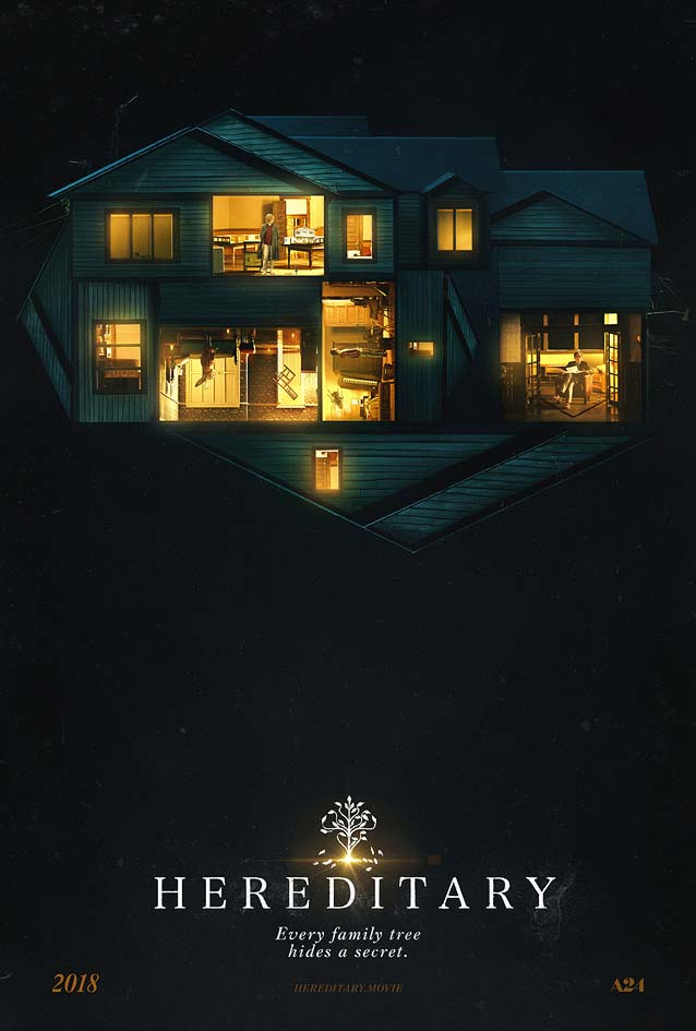 Gravillis, Inc.'s theatrical one-sheet for Hereditary