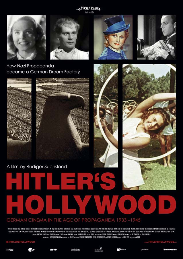 International version of the domestic one-sheet for Hitler's Hollywood