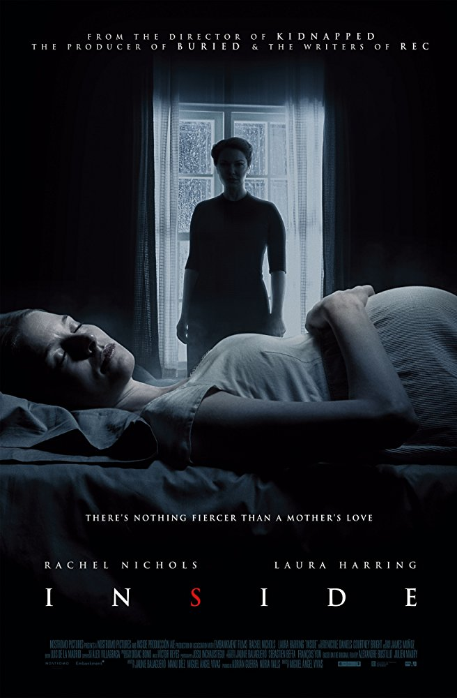 Main theatrical poster for Inside