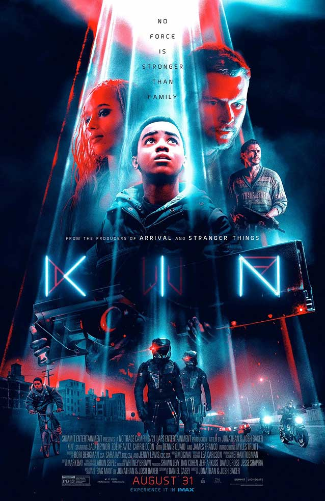 LA's theatrical one-sheet for Kin