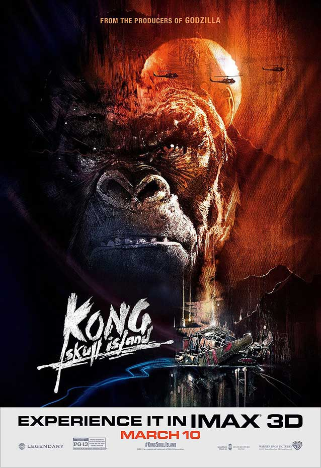 Film poster for Kong: Skull Island