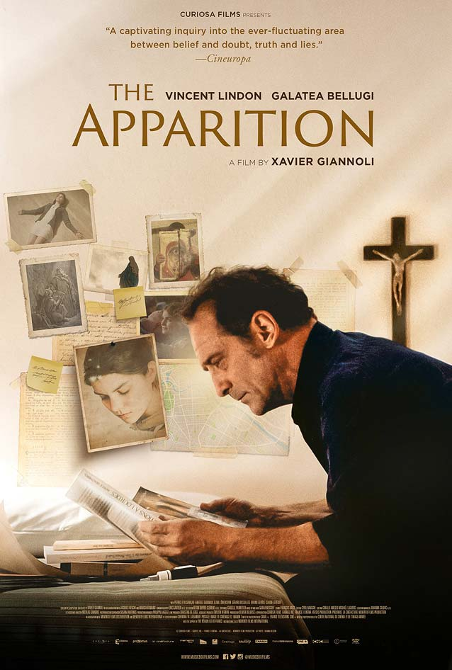 International theatrical one-sheet for L'apparition (The Apparition).