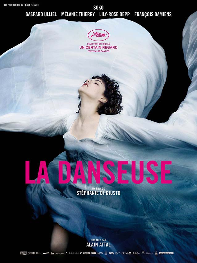 Domestic one-sheet for La Danseuse