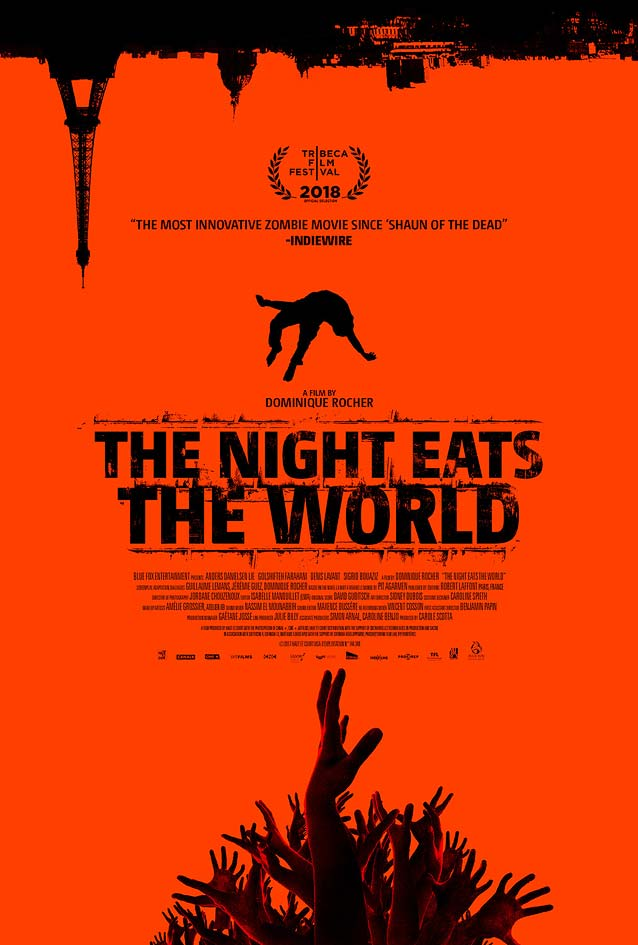 International poster for La nuit a dévoré le monde (The Night Eats the World)