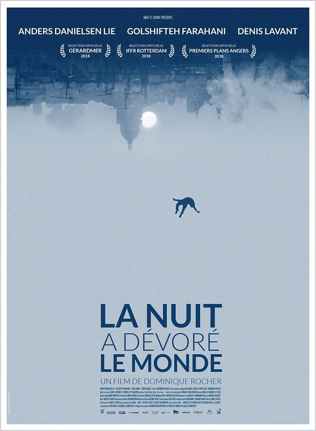 Domestic poster for La nuit a dévoré le monde (The Night Eats the World)
