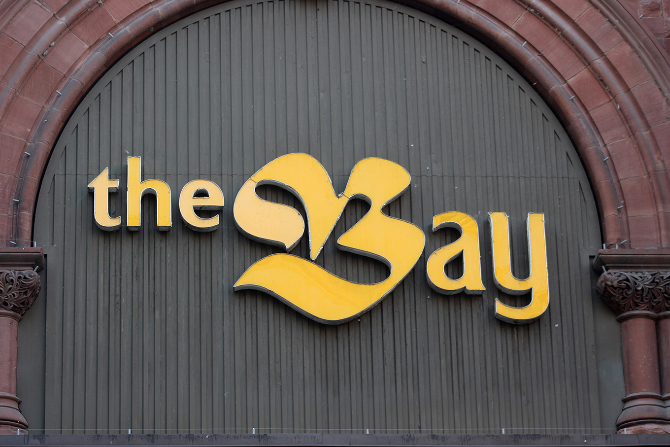 The iconic Bay logo