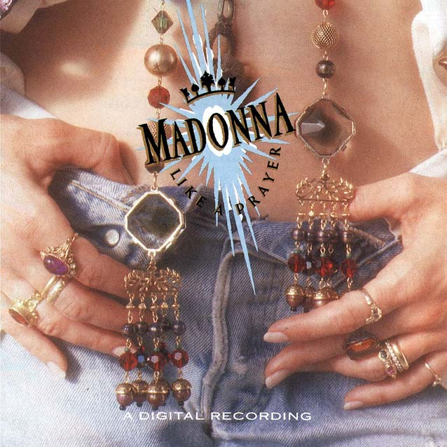 "Madonna ""Like A Prayer"" album sleeve"