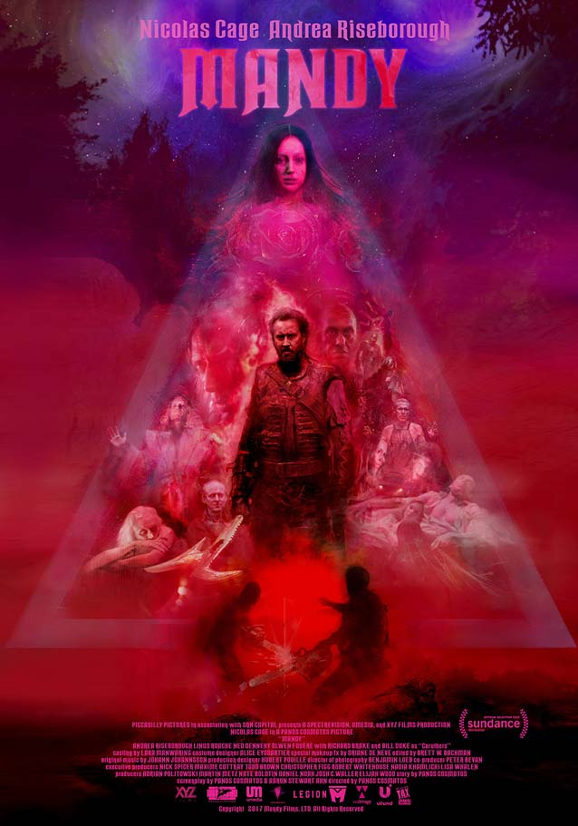 Theatrical one-sheet for Mandy