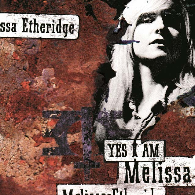 "Melissa Etheridge ""Yes I Am"" album sleeve"