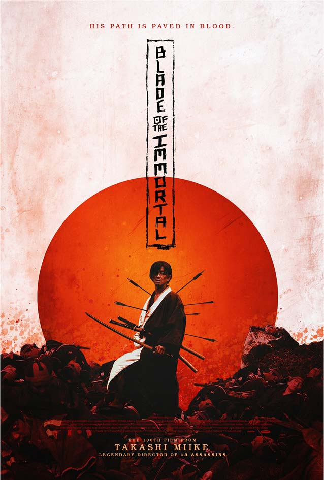 Poster for Mugen no jûnin (Blade of the Immortal)