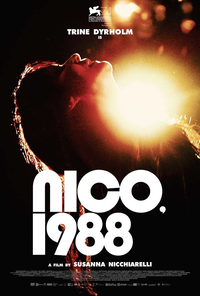 Midnight Marauder's theatrical one-sheet for Nico, 1988
