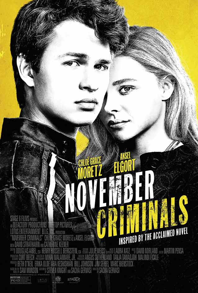 Kustom Creative's poster for November Criminals