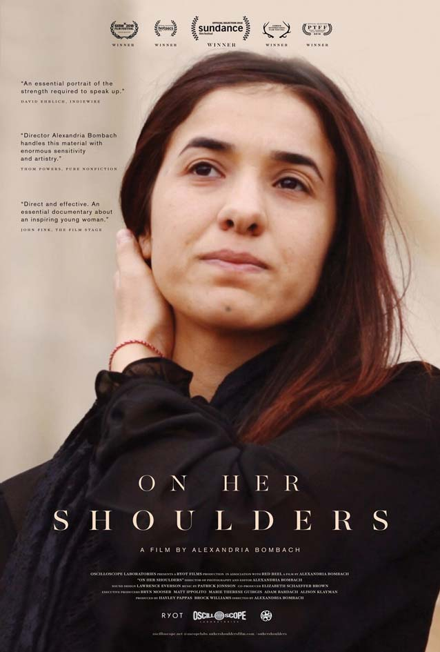 Theatrical one-sheet for On Her Shoulders