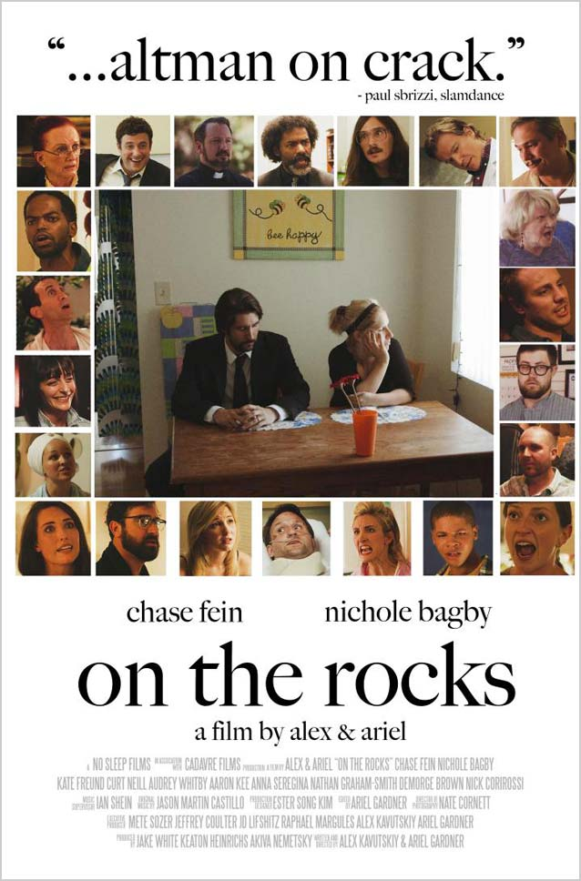 Film poster for On The Rocks