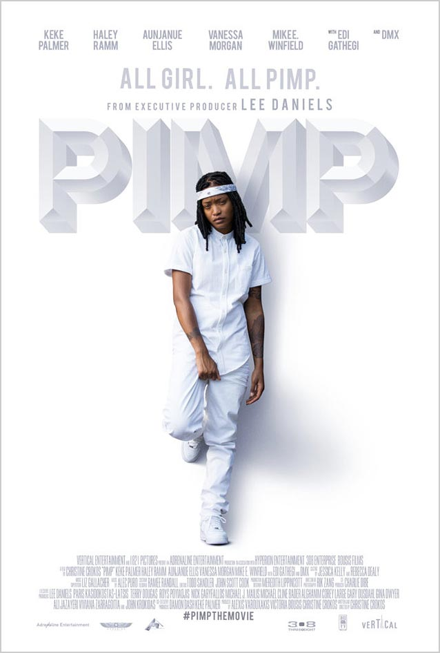 Statement Advertising's theatrical one-sheet for Pimp